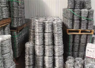 High Tensile 400 Meters Galvanised Barbed Wire Price Per Roll For Kenya